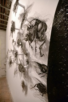 04.-Flies---ink-and-acrilic-on-plexiglass---variable-dimensions---2020.